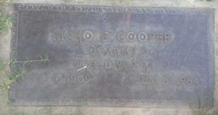 COOPER, MAYO - Los Angeles County, California | MAYO COOPER - California Gravestone Photos