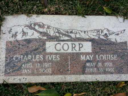 CORP, MAY L. - Los Angeles County, California | MAY L. CORP - California Gravestone Photos