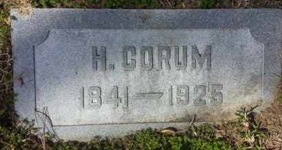 CORUM, H. - Los Angeles County, California | H. CORUM - California Gravestone Photos