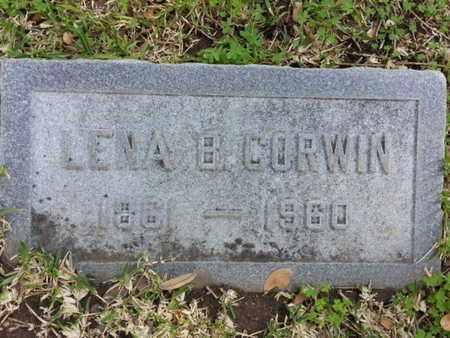 CORWIN, LENA B. - Los Angeles County, California | LENA B. CORWIN - California Gravestone Photos