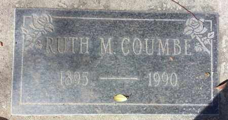 COUMBE, RUTH M. - Los Angeles County, California | RUTH M. COUMBE - California Gravestone Photos