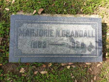 CRANDALL, MARJORIE N. - Los Angeles County, California | MARJORIE N. CRANDALL - California Gravestone Photos