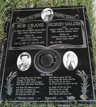CRANE, SIGRID - Los Angeles County, California | SIGRID CRANE - California Gravestone Photos