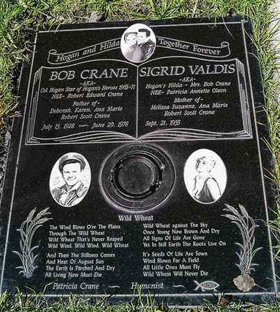 "CRANE, ROBERT EDWARD ""BOB""  [ACTOR] - Los Angeles County, California | ROBERT EDWARD ""BOB""  [ACTOR] CRANE - California Gravestone Photos"