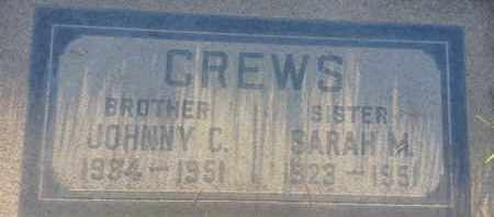 CREWS, JOHNNY - Los Angeles County, California | JOHNNY CREWS - California Gravestone Photos