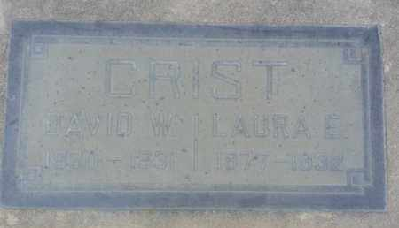 CRIST, DAVID - Los Angeles County, California | DAVID CRIST - California Gravestone Photos