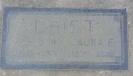 CRIST, LAURA - Los Angeles County, California | LAURA CRIST - California Gravestone Photos