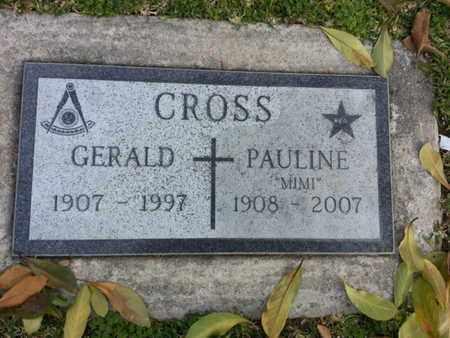 CROSS, GERALD - Los Angeles County, California | GERALD CROSS - California Gravestone Photos