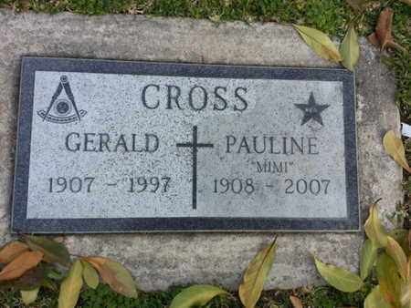 "CROSS, PAULINE ""MIMI"" - Los Angeles County, California | PAULINE ""MIMI"" CROSS - California Gravestone Photos"