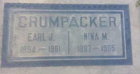 CRUMPACKER, NINA - Los Angeles County, California   NINA CRUMPACKER - California Gravestone Photos