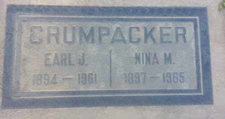 CRUMPACKER, NINA - Los Angeles County, California | NINA CRUMPACKER - California Gravestone Photos