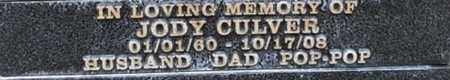 CULVER, JODY - Los Angeles County, California | JODY CULVER - California Gravestone Photos