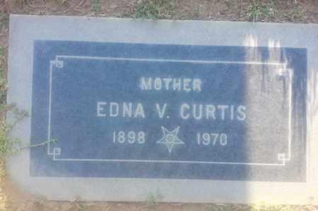 CURTIS, EDNA - Los Angeles County, California | EDNA CURTIS - California Gravestone Photos