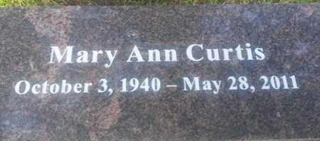 CURTIS, MARY - Los Angeles County, California   MARY CURTIS - California Gravestone Photos