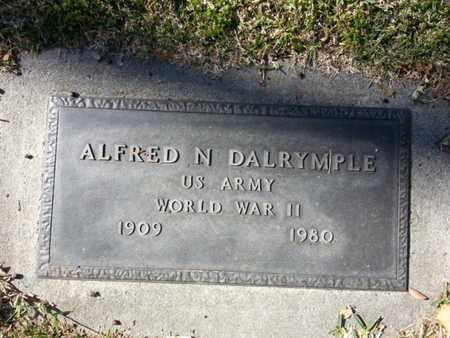 DALRYMPLE, ALFRED N. - Los Angeles County, California | ALFRED N. DALRYMPLE - California Gravestone Photos