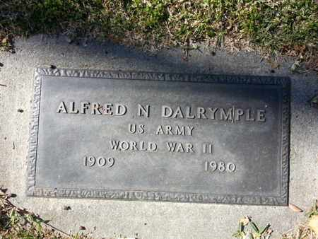DALRYMPLE, ALFRED N. - Los Angeles County, California | ALFRED N. DALRYMPLE - California Gravestone Photos