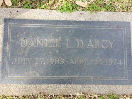 D'ARCY, DANIEL L. - Los Angeles County, California | DANIEL L. D'ARCY - California Gravestone Photos