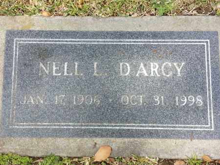 D'ARCY, NELL L. - Los Angeles County, California | NELL L. D'ARCY - California Gravestone Photos