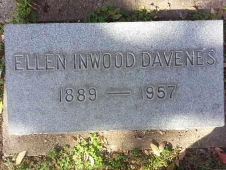 DAVENES, ELLEN - Los Angeles County, California | ELLEN DAVENES - California Gravestone Photos