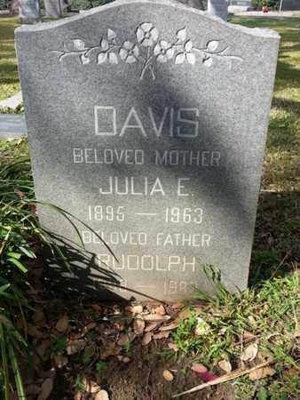 DAVIS, RUDOLPH - Los Angeles County, California   RUDOLPH DAVIS - California Gravestone Photos