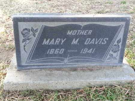 DAVIS, MARY M. - Los Angeles County, California | MARY M. DAVIS - California Gravestone Photos