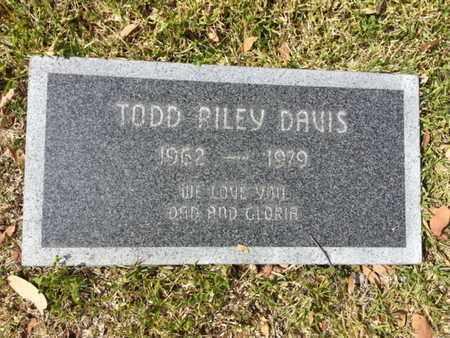 DAVIS, TODD RILEY - Los Angeles County, California   TODD RILEY DAVIS - California Gravestone Photos