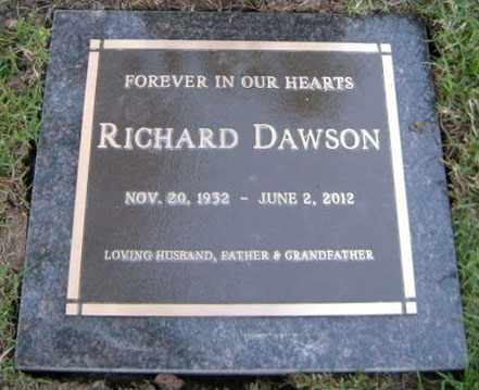 DAWSON, RICHARD - Los Angeles County, California | RICHARD DAWSON - California Gravestone Photos