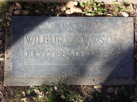 DAWSON, WILBUR W. - Los Angeles County, California | WILBUR W. DAWSON - California Gravestone Photos