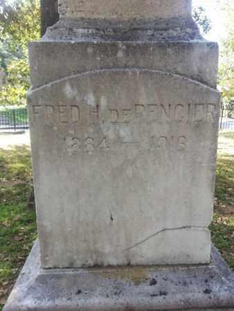 DE PENCIER, FRED H. - Los Angeles County, California   FRED H. DE PENCIER - California Gravestone Photos