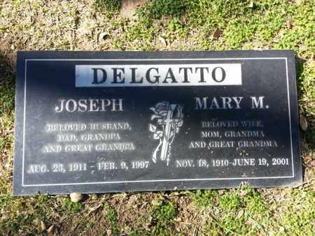 DELGATTO, MARY M. - Los Angeles County, California | MARY M. DELGATTO - California Gravestone Photos