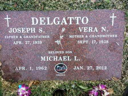 DELGATTO, VERA N. - Los Angeles County, California   VERA N. DELGATTO - California Gravestone Photos