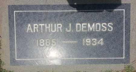 DEMOSS, ARTHUR - Los Angeles County, California | ARTHUR DEMOSS - California Gravestone Photos