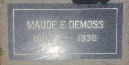 DEMOSS, MAUDE - Los Angeles County, California | MAUDE DEMOSS - California Gravestone Photos