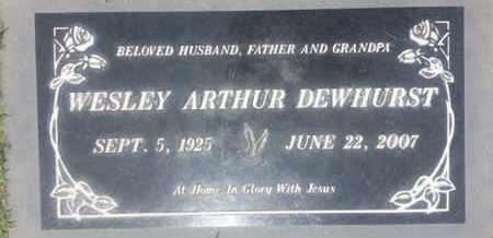DEWHURST, WESLEY - Los Angeles County, California | WESLEY DEWHURST - California Gravestone Photos