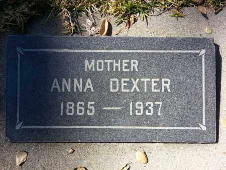DEXTER, ANNA - Los Angeles County, California   ANNA DEXTER - California Gravestone Photos