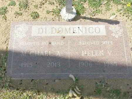 DI DOMENICO, HELEN - Los Angeles County, California   HELEN DI DOMENICO - California Gravestone Photos