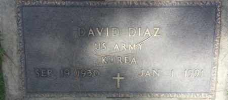 DIAZ, DAVID - Los Angeles County, California | DAVID DIAZ - California Gravestone Photos