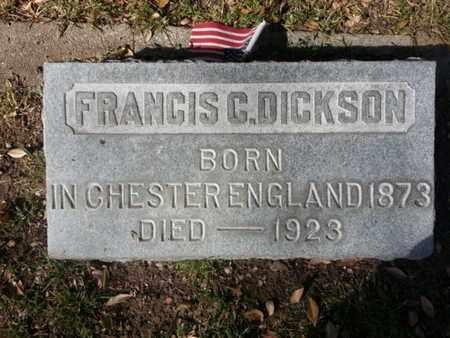 DICKSON, FRANCIS C. - Los Angeles County, California   FRANCIS C. DICKSON - California Gravestone Photos
