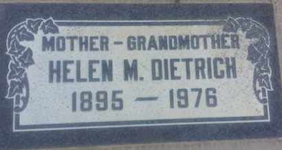 DIETRICH, HELEN - Los Angeles County, California | HELEN DIETRICH - California Gravestone Photos