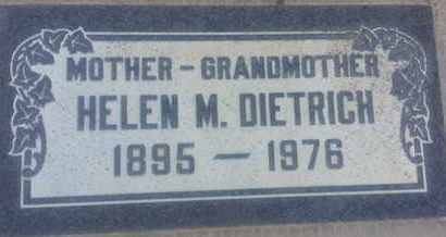 DIETRICH, HELEN - Los Angeles County, California | HELEN DIETRICH - California Gravestone Photos