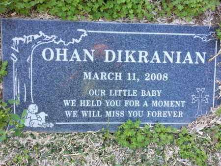 DIKRANIAN, OHAN - Los Angeles County, California   OHAN DIKRANIAN - California Gravestone Photos