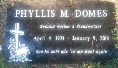 DOMES, PHYLLIS - Los Angeles County, California | PHYLLIS DOMES - California Gravestone Photos
