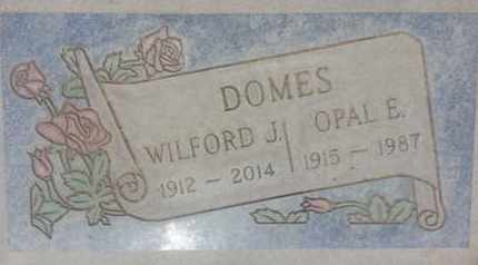 DOMES, WILFORD - Los Angeles County, California | WILFORD DOMES - California Gravestone Photos