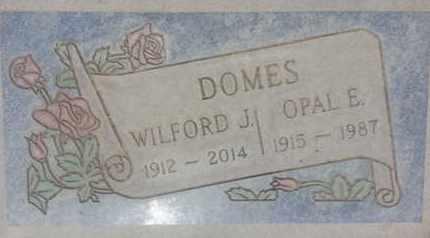DOMES, OPAL - Los Angeles County, California   OPAL DOMES - California Gravestone Photos