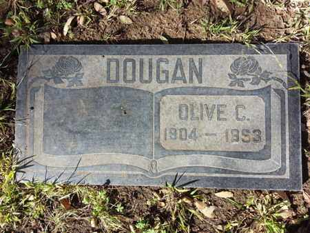 DOUGAN, OLIVE C. - Los Angeles County, California | OLIVE C. DOUGAN - California Gravestone Photos