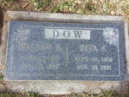 DOW, WALTER A. - Los Angeles County, California | WALTER A. DOW - California Gravestone Photos