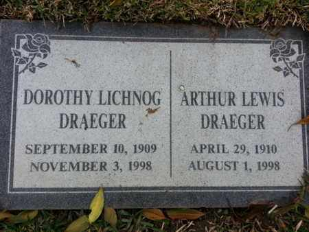 DRAEGER, DOROTHY - Los Angeles County, California | DOROTHY DRAEGER - California Gravestone Photos