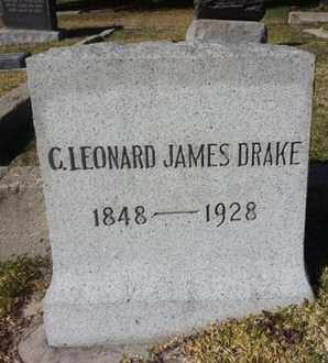 DRAKE, C. LEONARD JAMES - Los Angeles County, California | C. LEONARD JAMES DRAKE - California Gravestone Photos