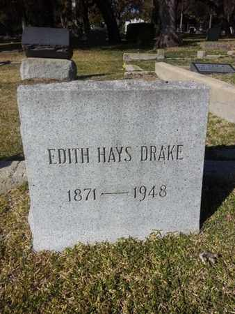 DRAKE, EDITH - Los Angeles County, California | EDITH DRAKE - California Gravestone Photos