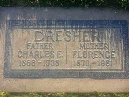 DRESHER, CHARLES - Los Angeles County, California | CHARLES DRESHER - California Gravestone Photos